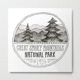 Great Smoky Mountain National Park Metal Print