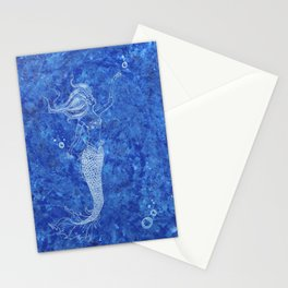 Mermaid Bubbles Stationery Cards
