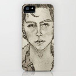 Cole Sprouse Portrait iPhone Case