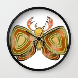 deer moth Wall Clock