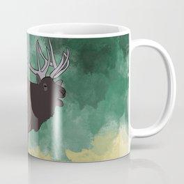 Bull Elk Bugling Coffee Mug