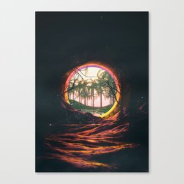 WRONG_LOCATION// Canvas Print