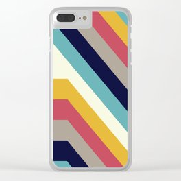 Back to 70's Clear iPhone Case