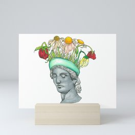 Wilting Flower Antiquity Mini Art Print