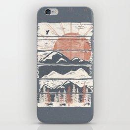 Winter Pursuits... iPhone Skin