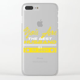 """Do you have the World's Best Husband? A shirt that says """"You Are The Best Husband In the World"""" Clear iPhone Case"""