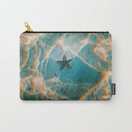 Beautiful Wonderful Star Fish At Bottom Of Sea Carry-All Pouch