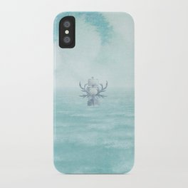 The Antlered Ship - Title Page iPhone Case