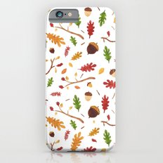 Autumn pattern Slim Case iPhone 6s