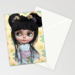 Kimono Girl by Erregiro Stationery Cards