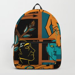 arrow story Backpack