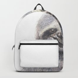 happy sloth Backpack