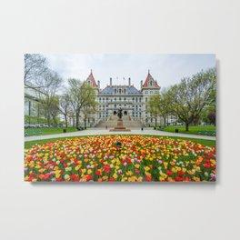New York State Capitol 02 Metal Print