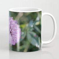 clover Mugs featuring Clover by Bud M