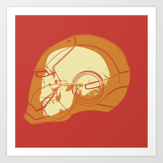 Shell Head Art Print