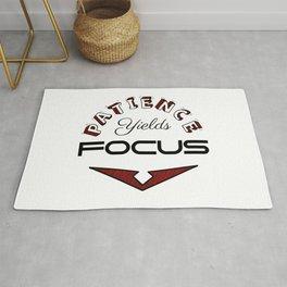 Patience Yields Focus Rug