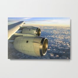 DC-8 NAMMA MISSION TO CAPE VERDE AFRICA August 2006 Metal Print
