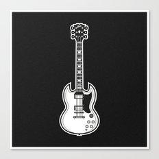 Gibson SG Canvas Print