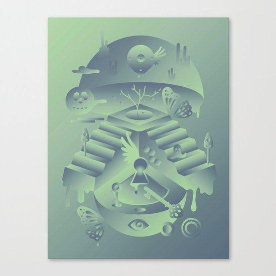 Geometromorphic Memory Canvas Print
