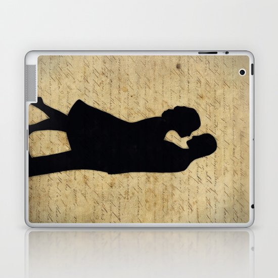 Loving Couple Laptop & iPad Skin