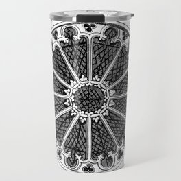 Rose window Travel Mug