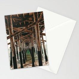 Balboa Pier Print {1 of 3} | Newport Beach Ocean Photography Teal Summer Sun Wave Art Stationery Cards