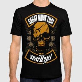sagat muay thai thailand fighter heroes traditional martial art T-shirt