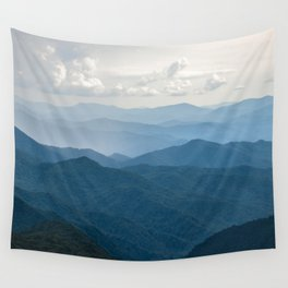 Smoky Mountain National Park Nature Photography Wall Tapestry