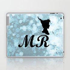 Mr Peter Pan - Watercolor and Splatter Laptop & iPad Skin