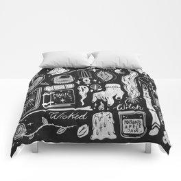 BLACK MAGIC Comforters