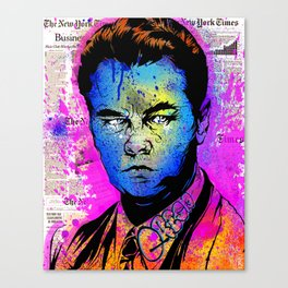 Wolf of Wallstreet Canvas Print