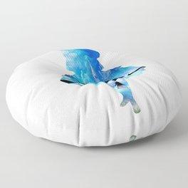 Welcome To Wonderland Floor Pillow