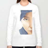tupac Long Sleeve T-shirts featuring Makaveli Aiko by Rey Lallave
