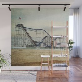 Jet Star Coaster Wall Mural