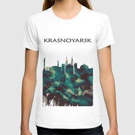 Krasnoyarsk Skyline T-shirt