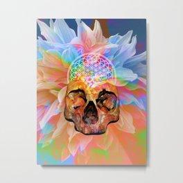 Dead Vibes Metal Print