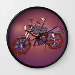 Vintage Motorcycle Gems Wall Clock