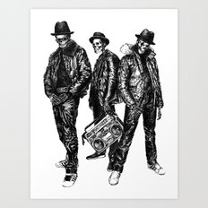 the Legend of Hip Hop Art Print