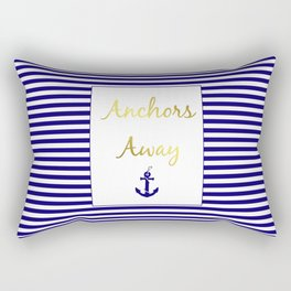 Anchors Away Rectangular Pillow