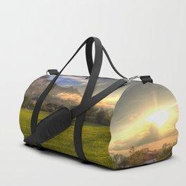 Saint Lorenz Austria Sunset Duffle Bag