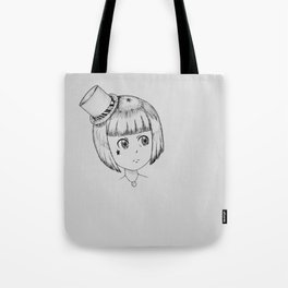 Manga Girl Tote Bag