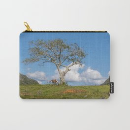 Single tree in Vinales Valley, Cuba Carry-All Pouch
