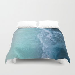 Turquoise Sea Duvet Cover