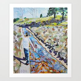 Coyote Creek Art Print