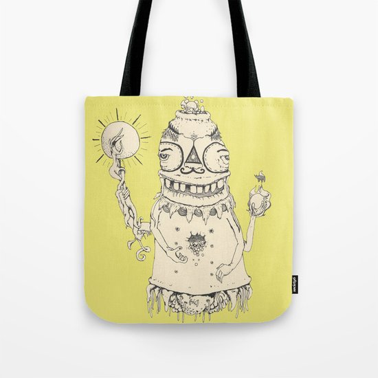 High Mr Meatbell Tote Bag