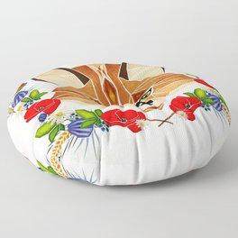 spring fox  Floor Pillow