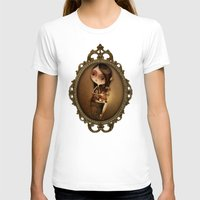 cage T-shirts featuring Gold Cage by José Luis Guerrero