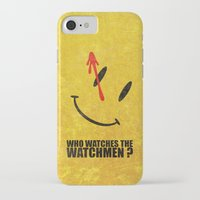 watchmen iPhone & iPod Cases featuring The Watchmen (Super Minimalist series) by Itomi Bhaa