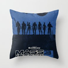 Mass Effect 3 Throw Pillow