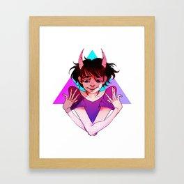 A Great Divide  Framed Art Print